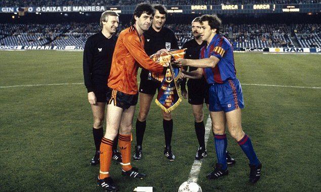 Как «Данди Юнайтед» не пустил «Барселону» в полуфинал Кубка УЕФА