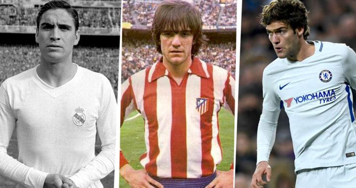 Три поколения футболистов по имени Маркос Алонсо, сыгравших на «Уэмбли»