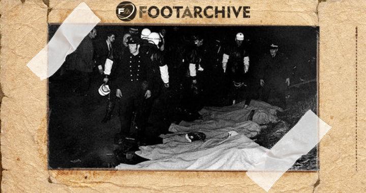 Трагедия на стадионе «Айброкс»: в давке на лестнице №13 погибли 66 человек. Раньше на этом месте уже умирали люди
